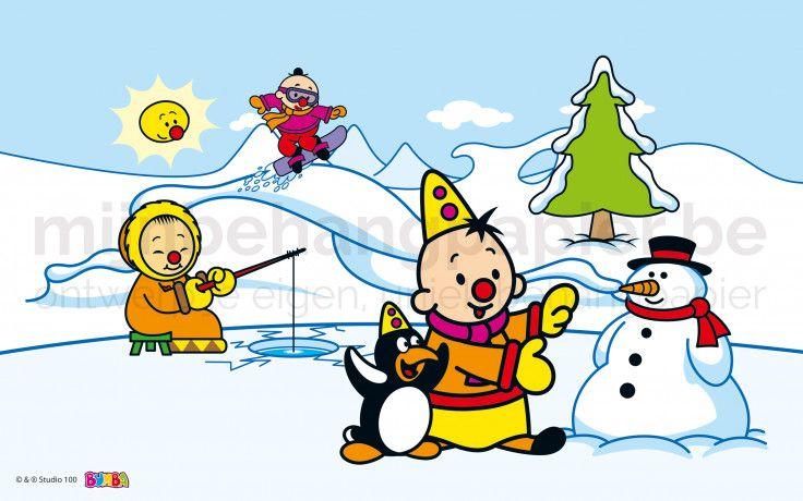 Bumba in de sneeuw