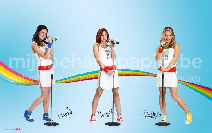 K3 aan het zingen