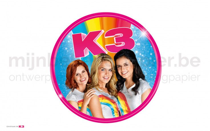 K3 badge