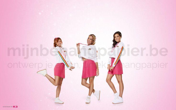 K3 roze jurkjes