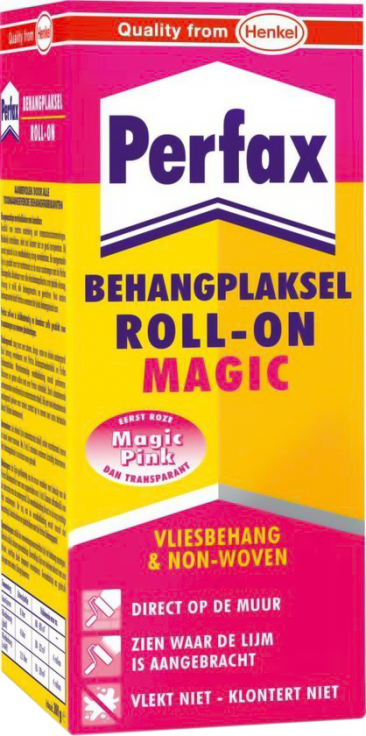 Perfax roll-on magic behanglijm 200g