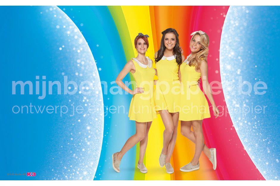 K3 regenboog glitters