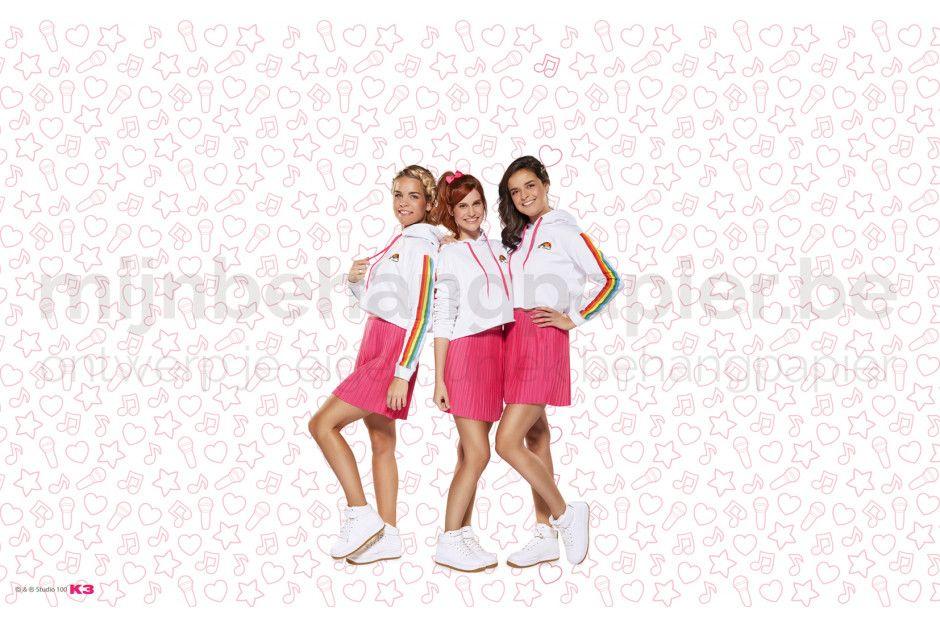 K3 roze elementen