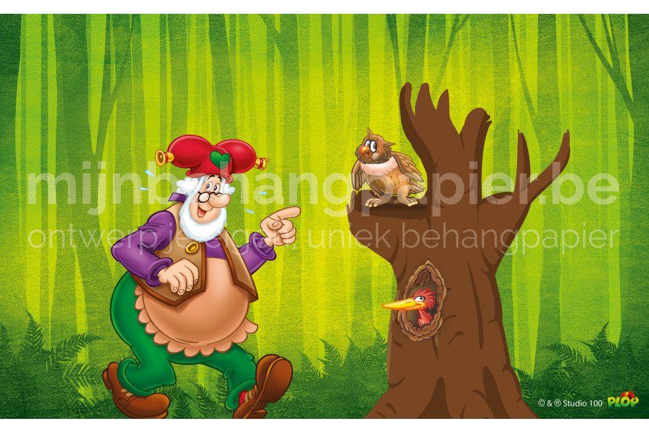 Plop in het bos