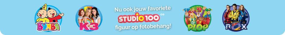 Nu ook jouw favoriete Studio 100 figuur op fotobehang!